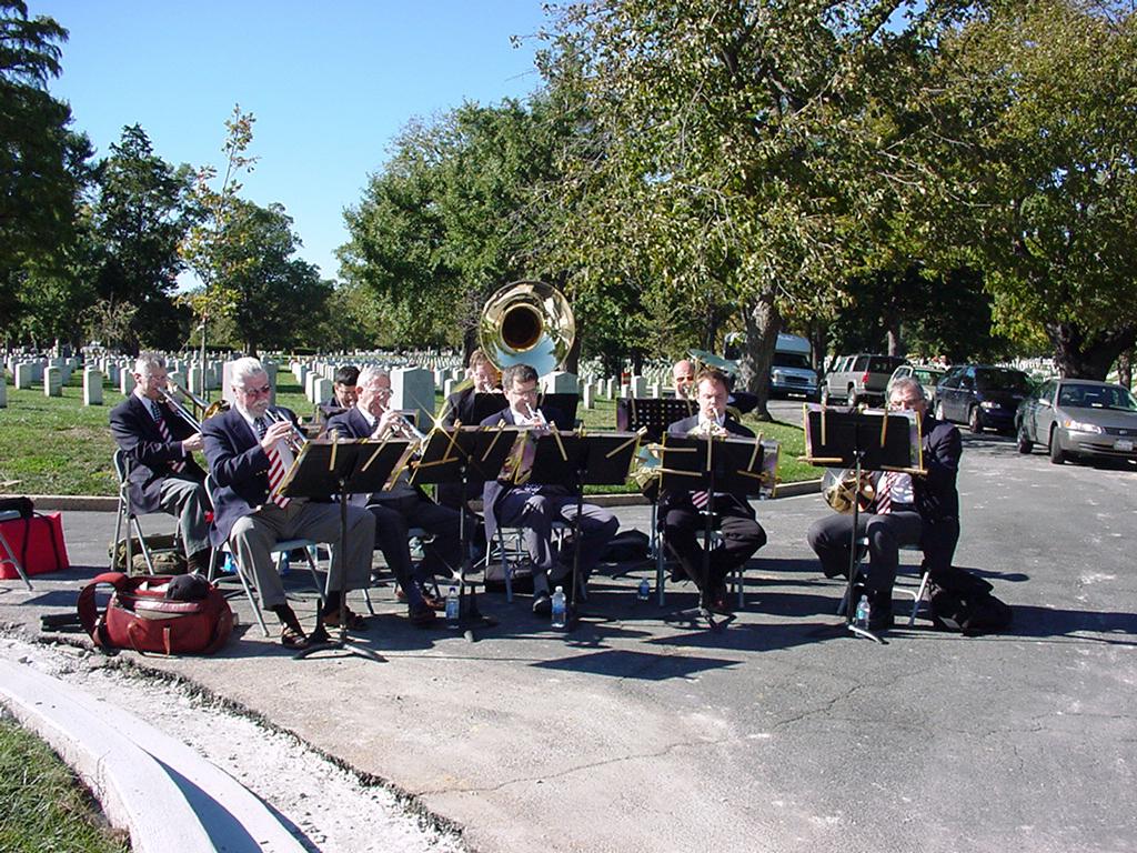 Brass Ensemble cemetery
