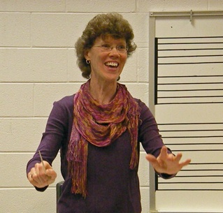 Linda-conducting